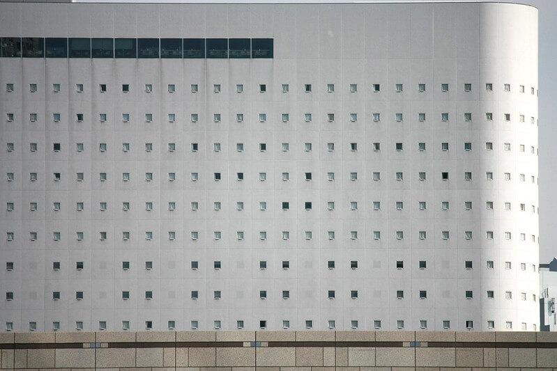 新宿ワシントンホテルの外観